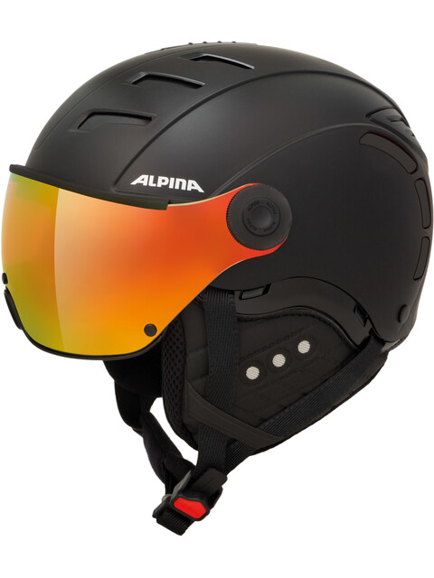 Alpina Jump 2.0 QVMM Hjelm sort
